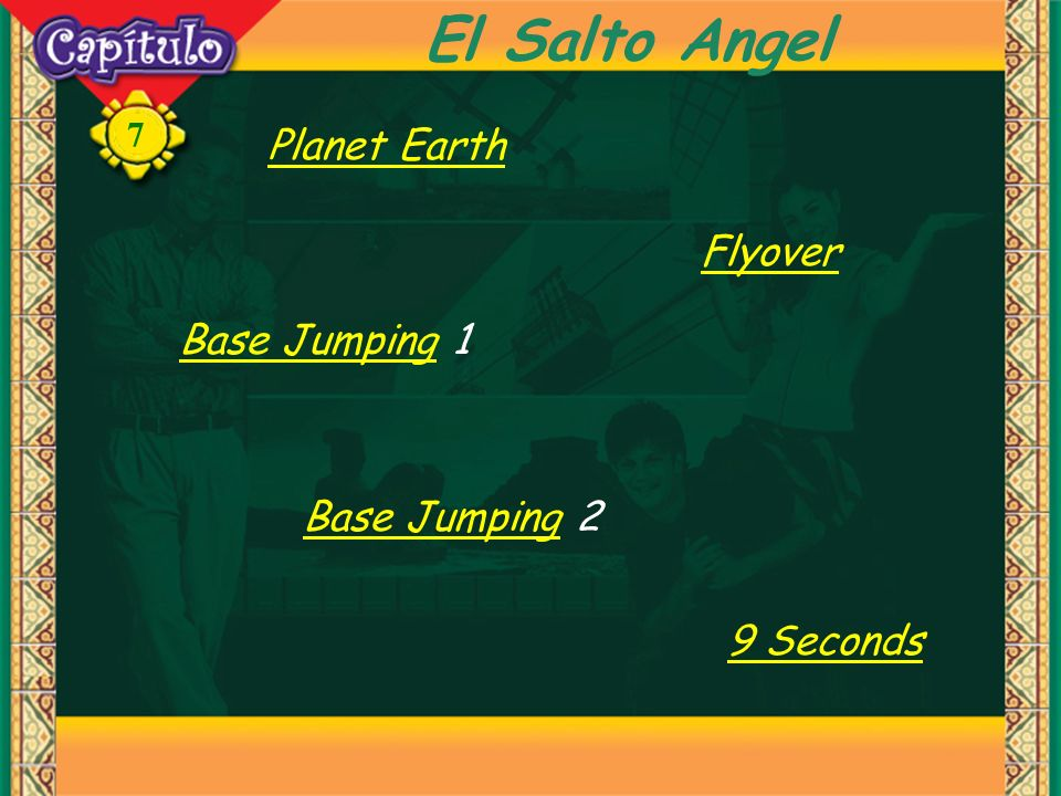 7 El Salto Angel Planet Earth Flyover Base JumpingBase Jumping 1 9 Seconds Base JumpingBase Jumping 2