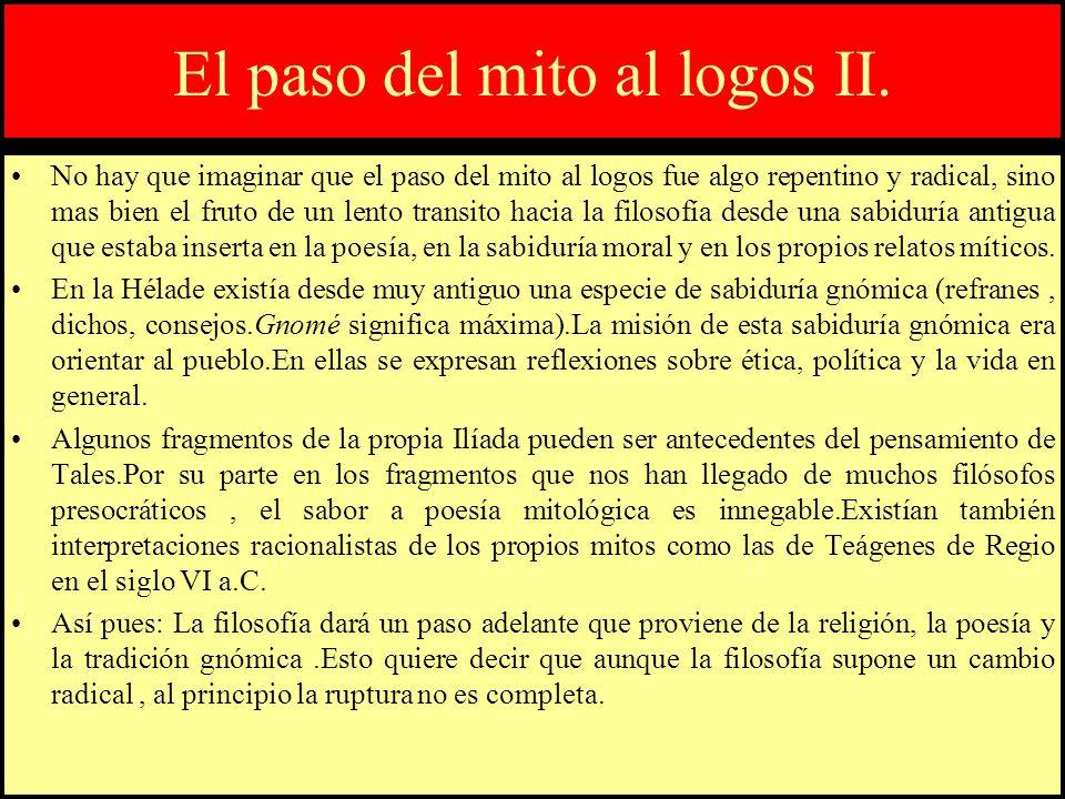 Mito:definición y características.