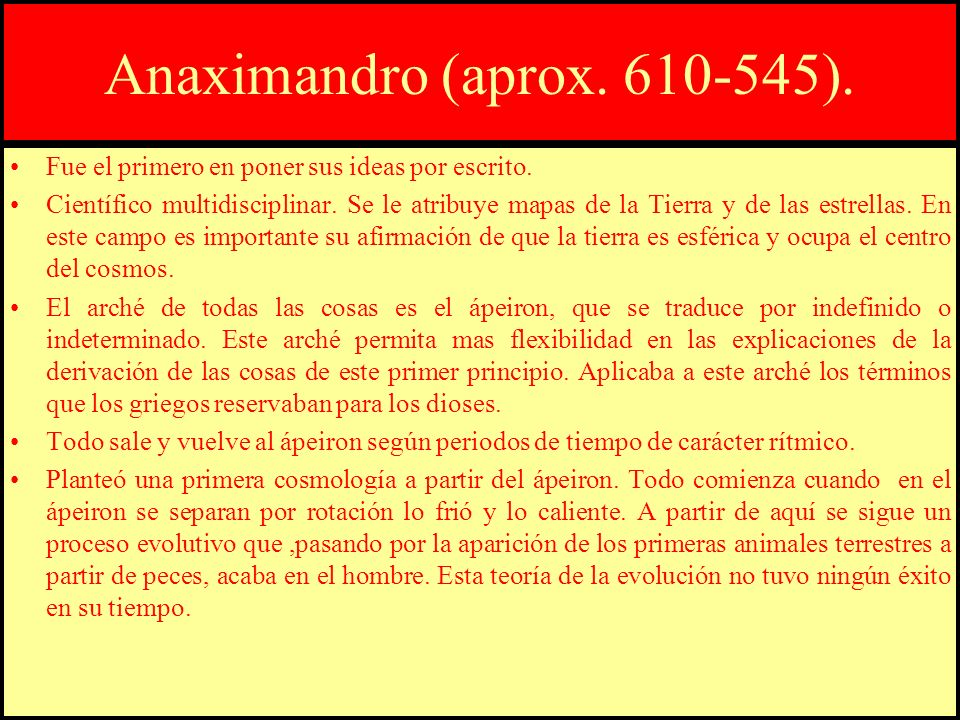 Anaxímenes (aprox.