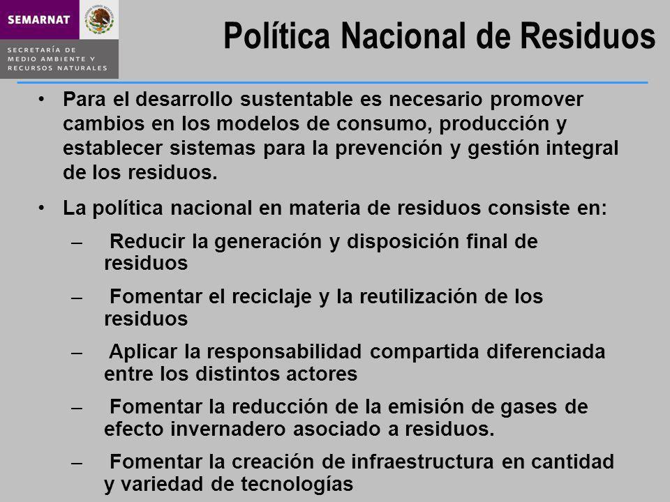 Dentro de las primeras acciones a realizar para la implantación del PNGIR, se encuentra : La recolección de todos los residuos generados La formulación e implementación de planes de manejo para los RME y RP.