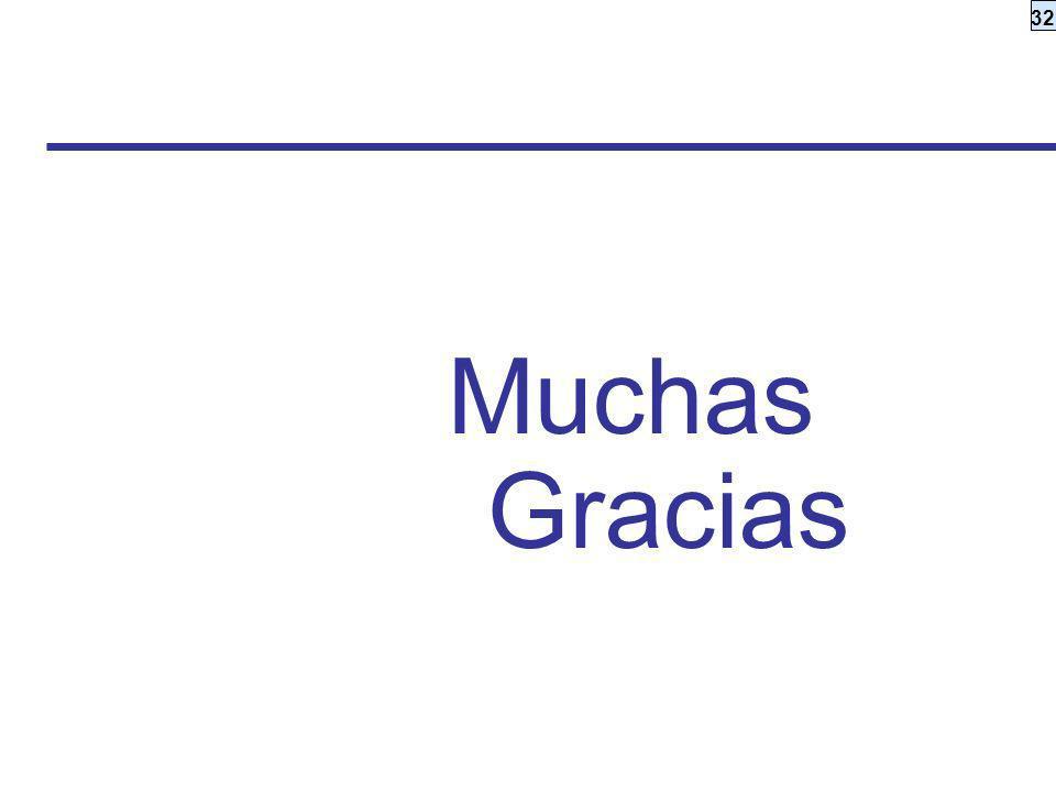 32 Muchas Gracias