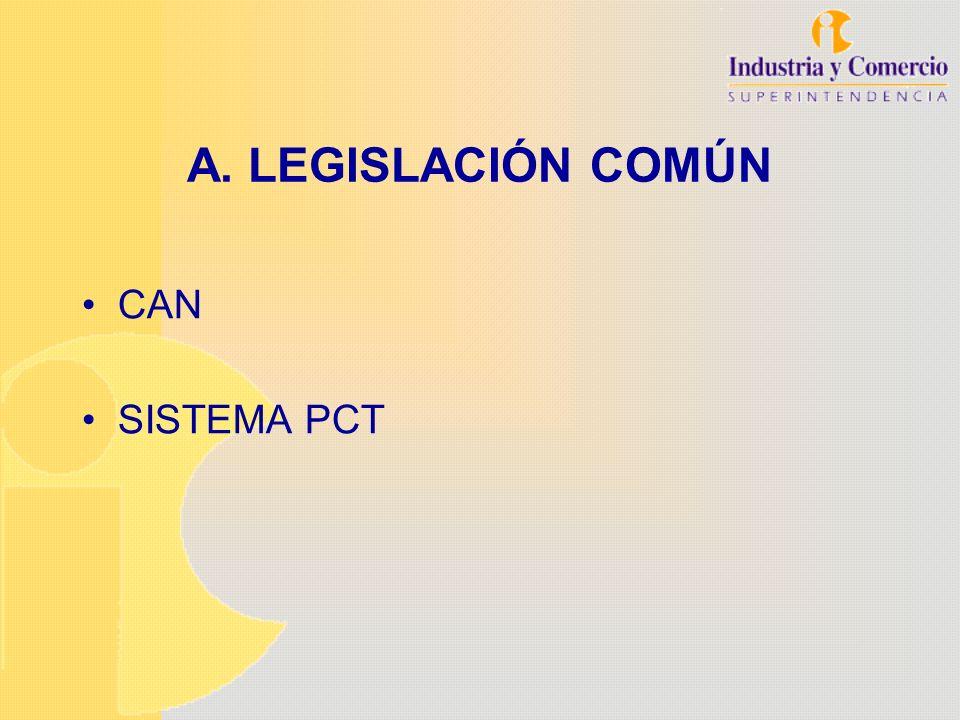 SISTEMA PCT Facilita la presentación de solicitudes en varios países al mismo tiempo Procedimiento de solicitudes de patentes al mismo tiempo Características- Oficina receptora única - Solicitud única - Examen de forma único - Búsqueda internacional publicación internacional - Examen preliminar (opcional) - Fase nacional - Patentes nacionales