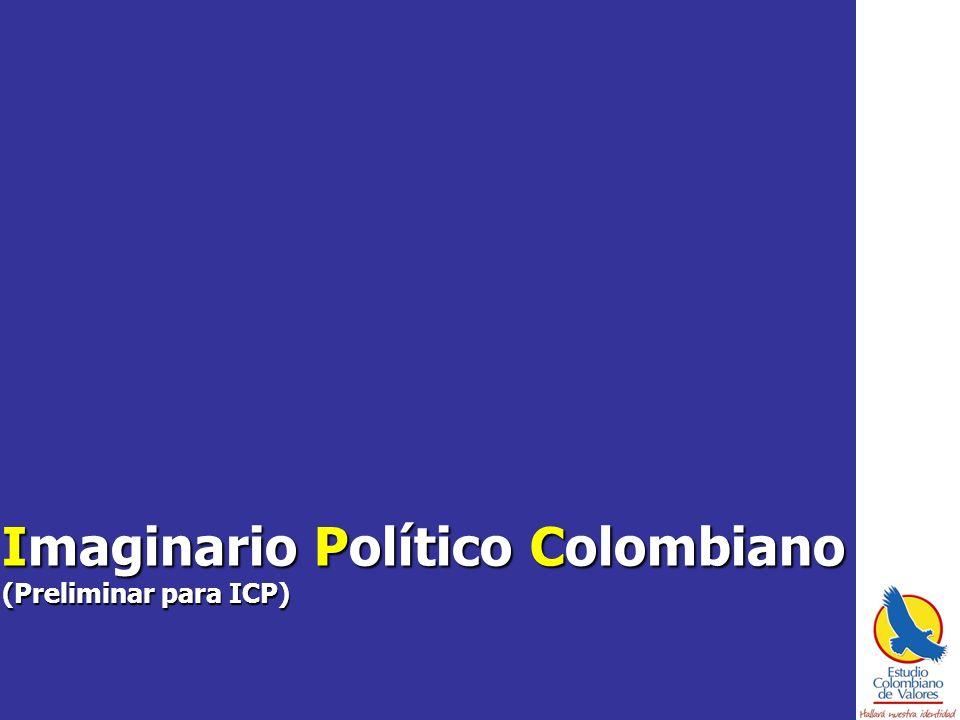 Imaginario Político Colombiano (Preliminar para ICP)