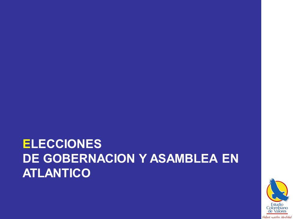 ELECCIONES DE GOBERNACION Y ASAMBLEA EN ATLANTICO