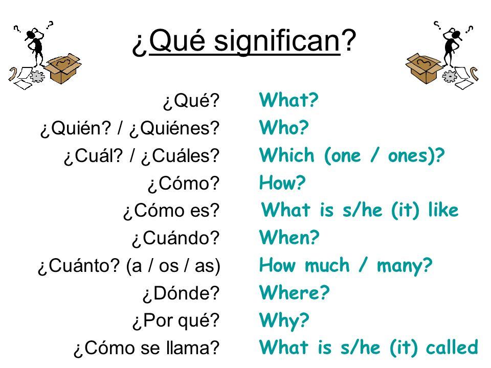 Prueba #1 (Quiz #1) How do you say in Spanish… 1.Hello 2.Good morning 3.Good bye 4.Very well 5.Thank you How do you say in English… 6.Me llamo 7.Como