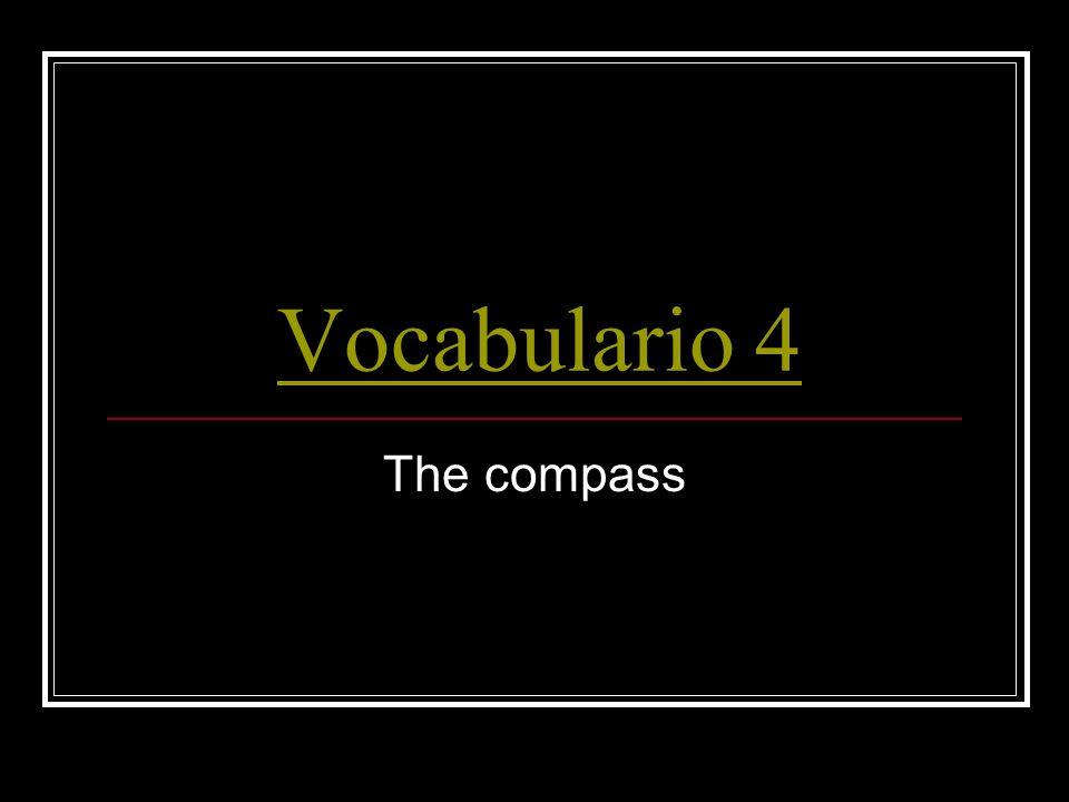 Vocabulario 4 La brújula