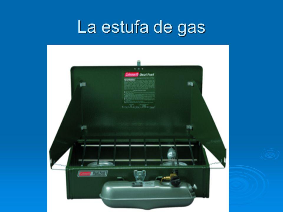 La estufa de gas