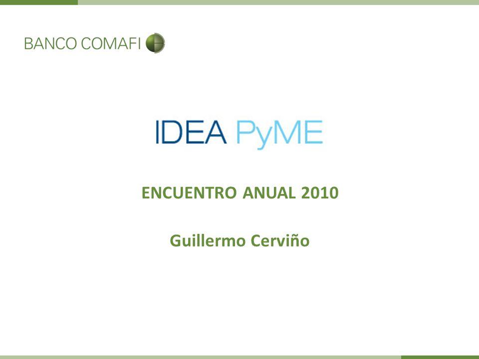ENCUENTRO ANUAL 2010 Guillermo Cerviño