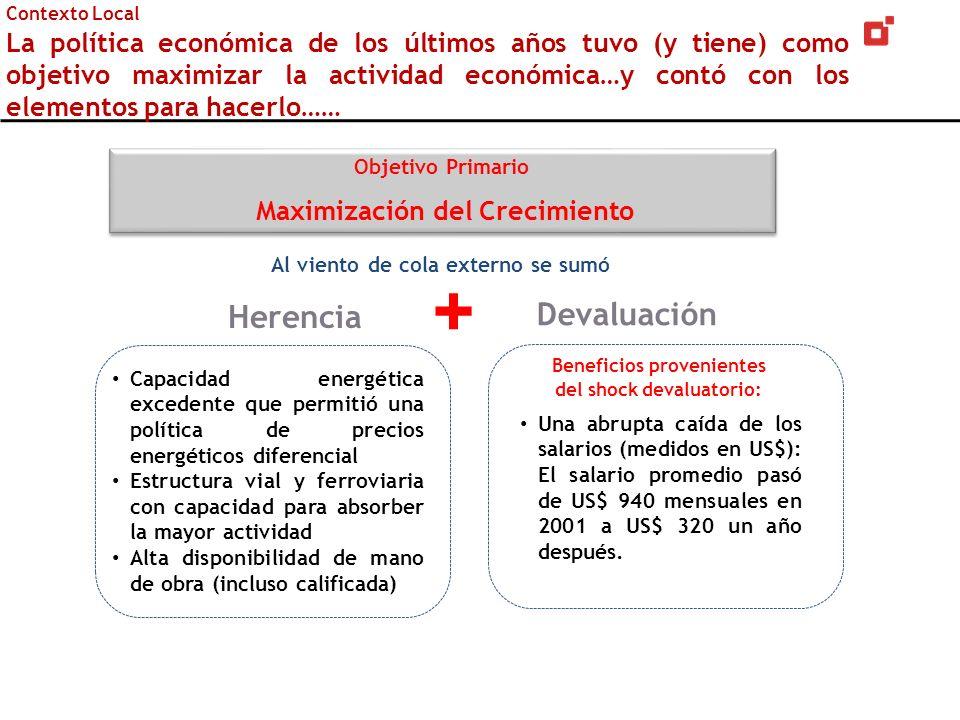 Se está a tiempo para avanzar sobre la inflación Una continuidad necesitará contar con otro mecanismo de anclaje, además del Tipo de Cambio.