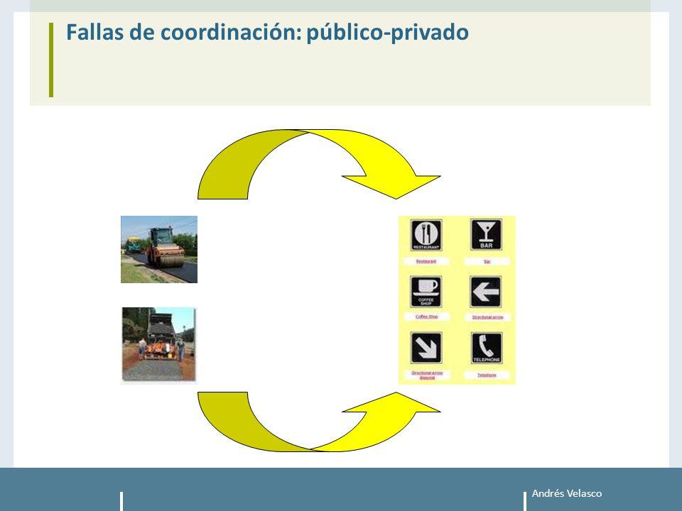 Andrés Velasco Fallas de coordinación: público-privado