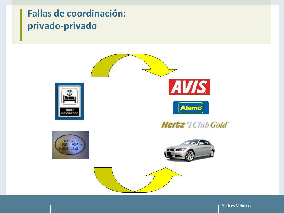 Andrés Velasco Fallas de coordinación: privado-privado