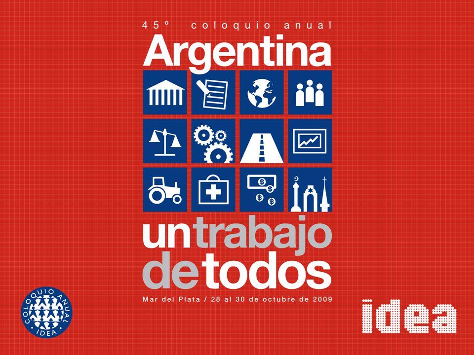 La inversión en infraestructura en la Argentina: necesidades y requisitos para un desempeño competitivo Fernando Navajas