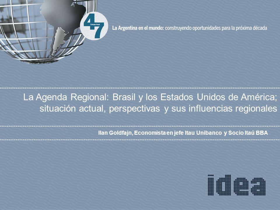 Ilan Goldfajn, Economista en jefe Itau Unibanco y Socio Itaú BBA La Agenda Regional: Brasil y los Estados Unidos de América; situación actual, perspectivas y sus influencias regionales