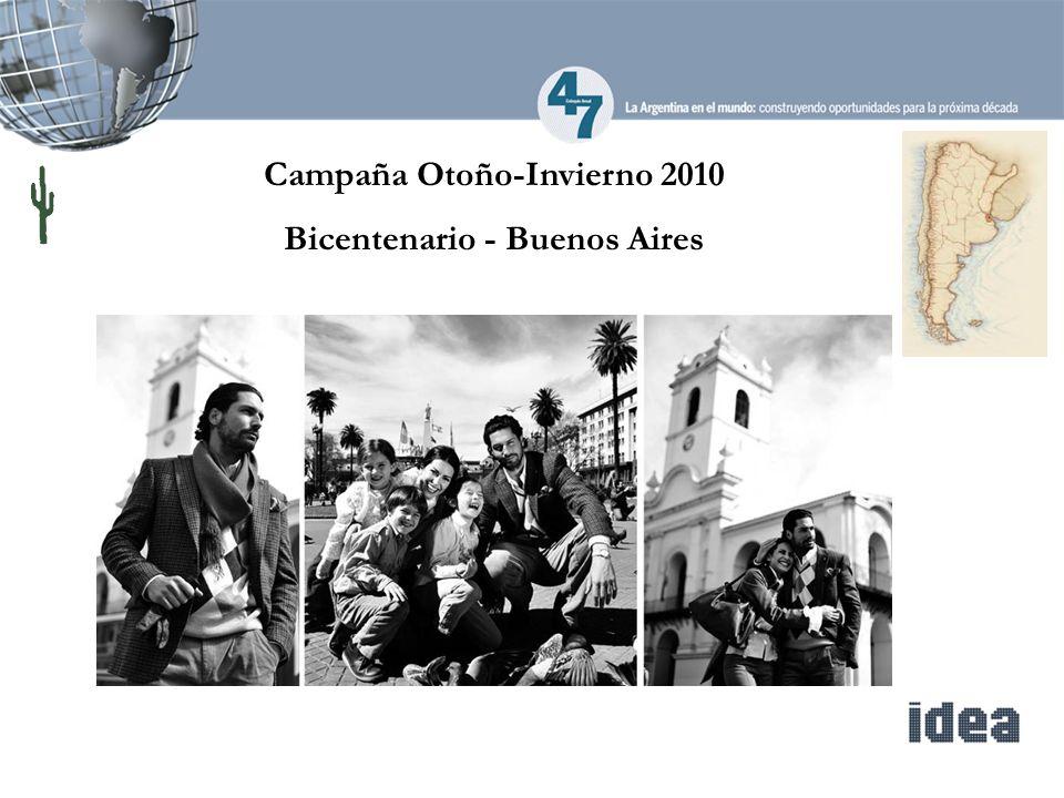 Campaña Otoño-Invierno 2010 Bicentenario - Buenos Aires
