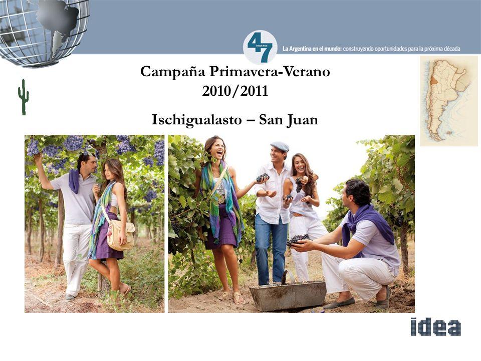 Campaña Primavera-Verano 2010/2011 Ischigualasto – San Juan