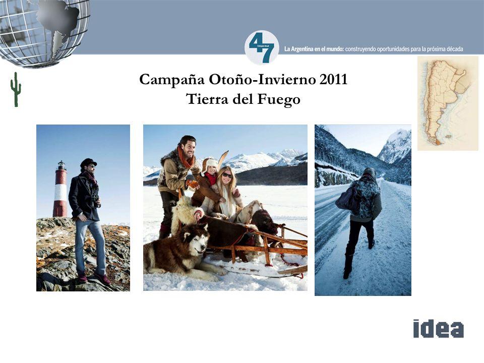 Campaña Otoño-Invierno 2011 Tierra del Fuego