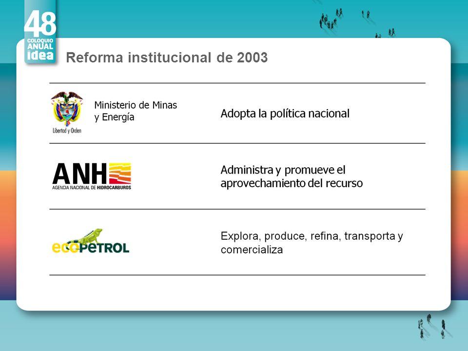 Reforma institucional de 2003
