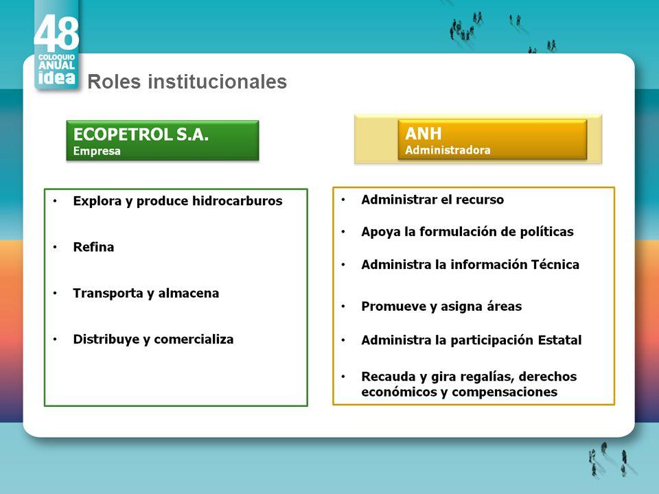 Roles institucionales
