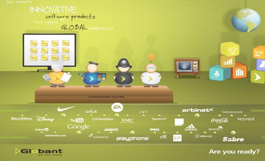 Page 15 Nuestro Equipo Campaña X en La Nación Apertura Globant Tech Park