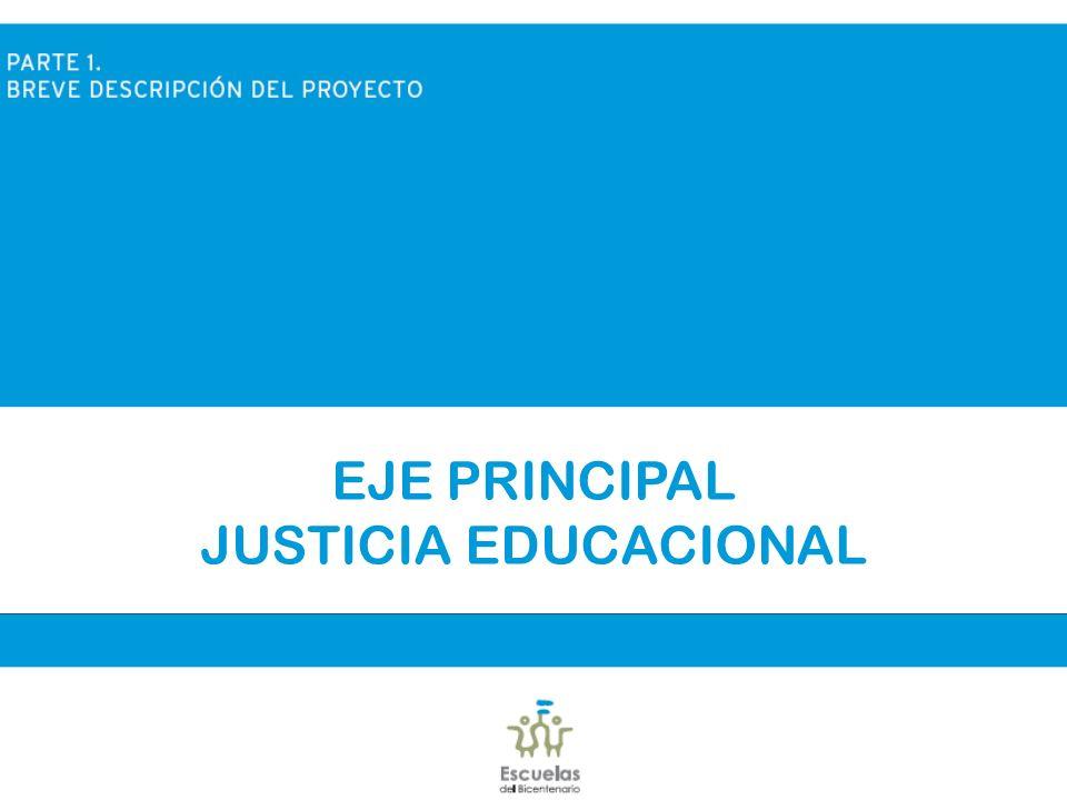 EJE PRINCIPAL JUSTICIA EDUCACIONAL