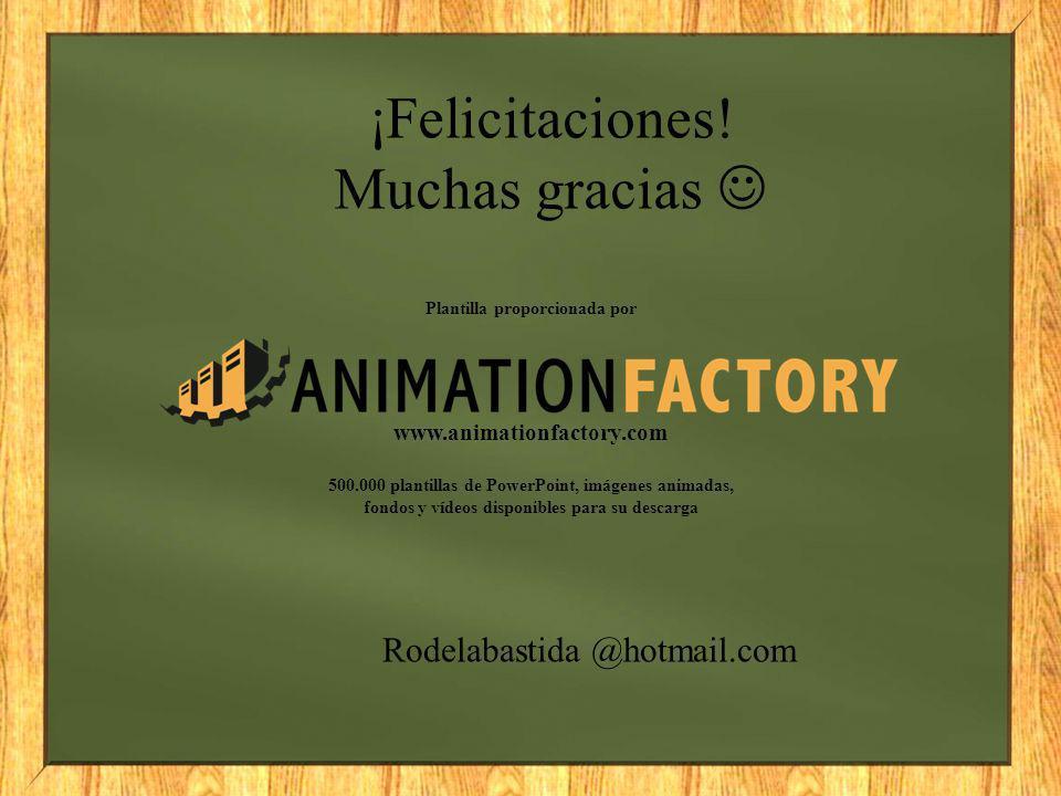 Plantilla proporcionada por www.animationfactory.com 500.000 plantillas de PowerPoint, imágenes animadas, fondos y vídeos disponibles para su descarga