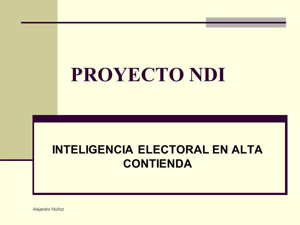 Alejandro Muñoz PROYECTO NDI INTELIGENCIA ELECTORAL EN ALTA CONTIENDA