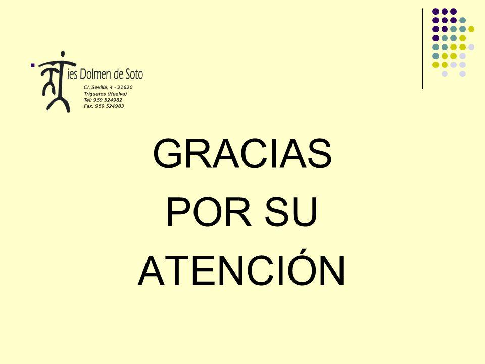 . GRACIAS POR SU ATENCIÓN