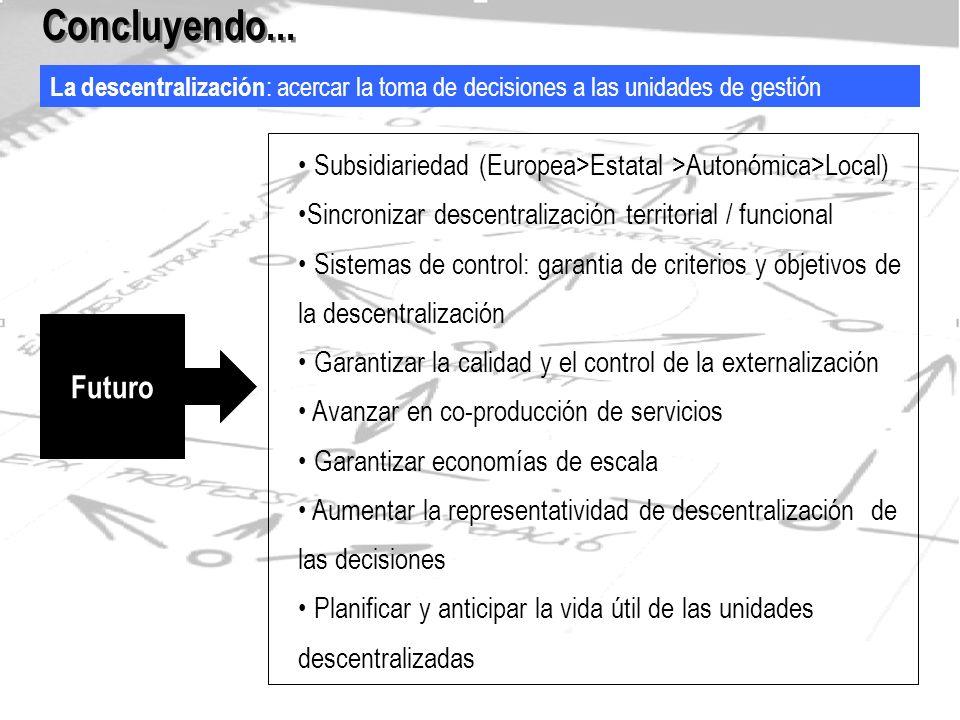 La calidad: una herramienta al servicio de la ciudadania Concluyendo...