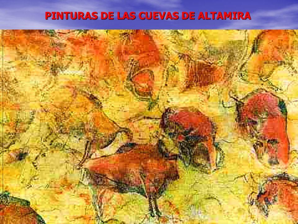 PINTURAS DE LAS CUEVAS DE ALTAMIRA