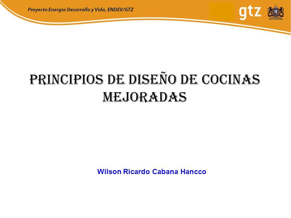 Principios de Diseño de Cocinas mejoradas Wilson Ricardo Cabana Hancco