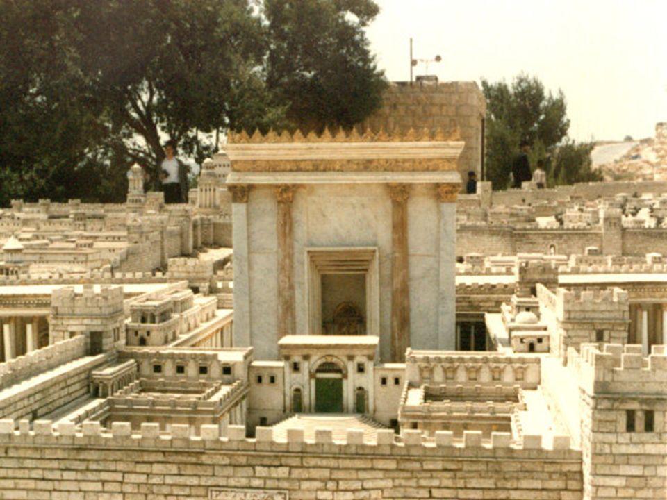 La Explanada del Templo (maqueta) El Muro de las Lamentaciones Atrios del Templo Santo de los Santos
