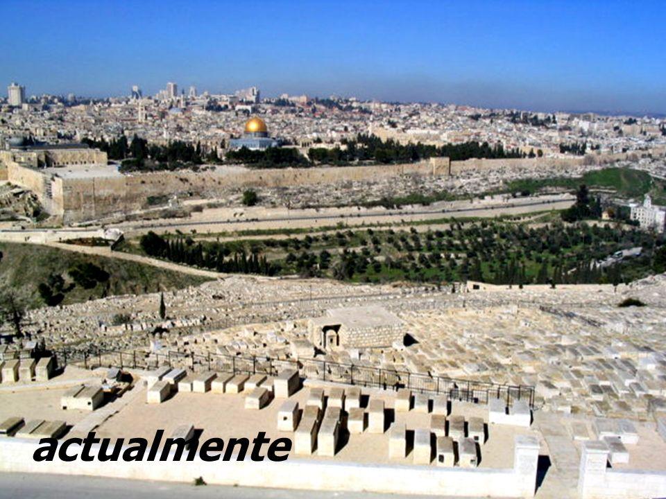 JERUSALÉN actualmente Situación del Templo