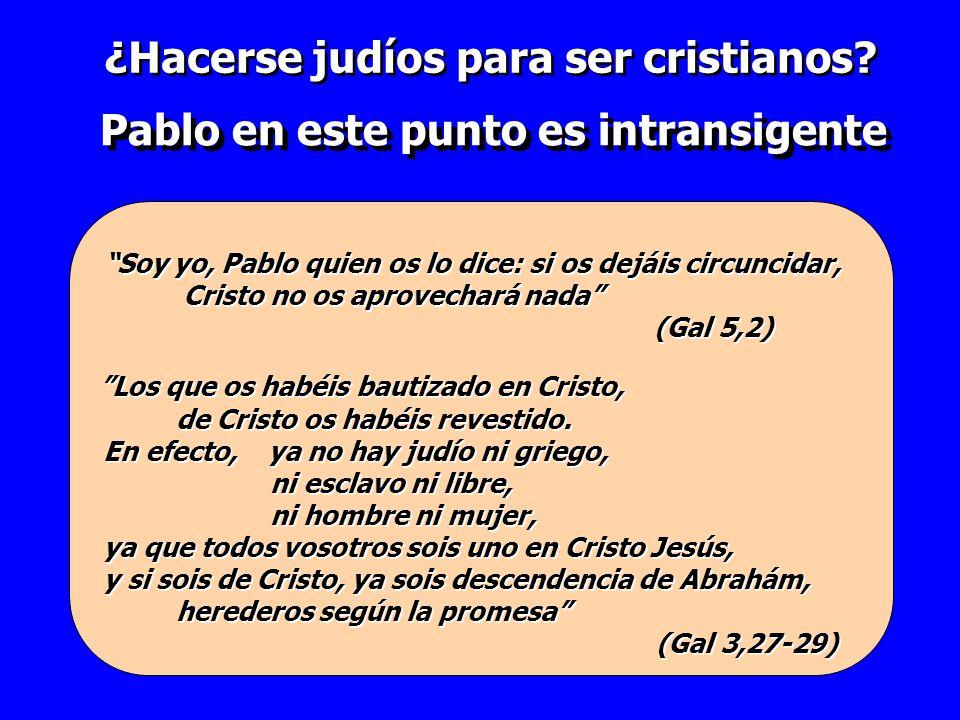 Los que os habéis bautizado en Cristo, de Cristo os habéis revestido. En efecto, ya no hay judío ni griego, ni esclavo ni libre, ni hombre ni mujer, y