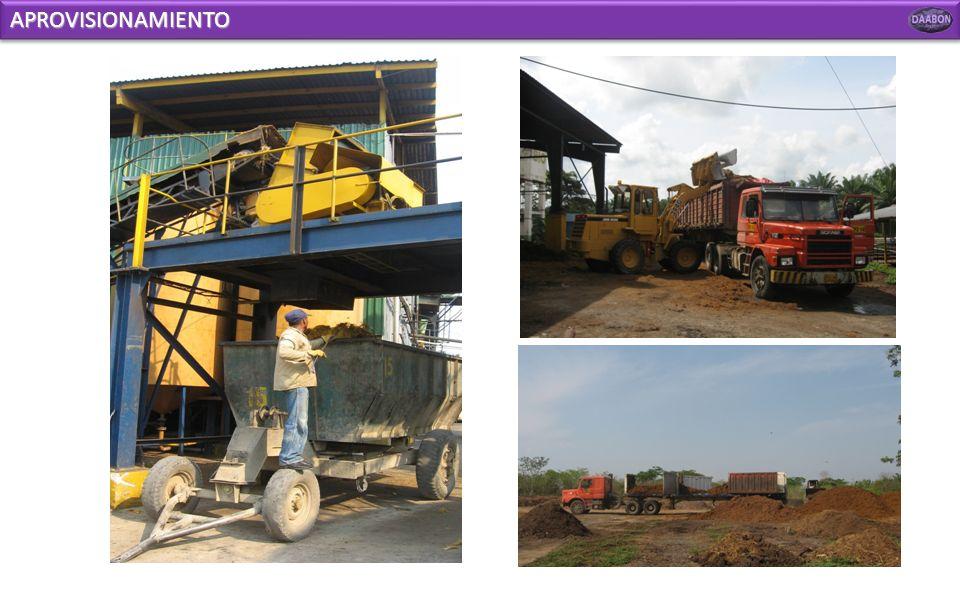 MAQUINARIA E IMPLEMENTOS DE TRABAJO Máquina picadora Máquina aireadora Cargador Tractores Bomba de riego