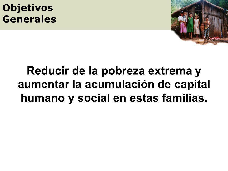 Es un programa dirigido a la población en extrema pobreza. Garantiza el acceso a salud, educación y nutrición de los niños y sus madres a través de tr