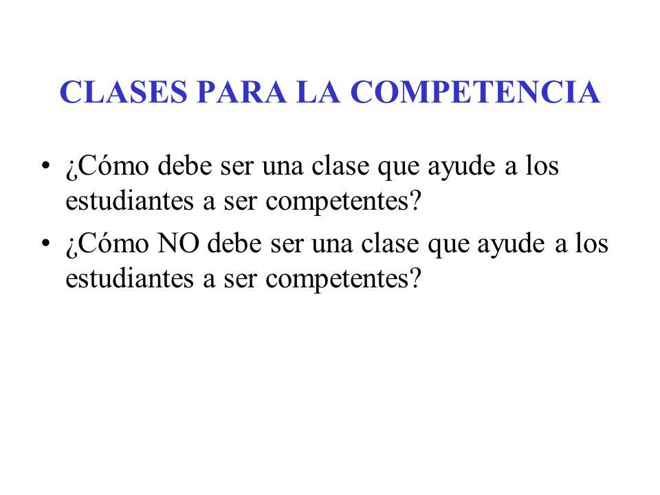 NOCIÓN DE COMPETENCIA ¿En qué me siento competente? –E–Elementos comunes en las competencias ¿Cómo llegué a ser competente en eso? –E–Elementos comune