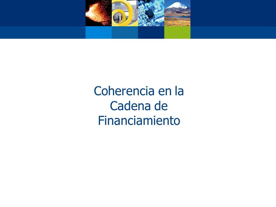Coherencia en la Cadena de Financiamiento