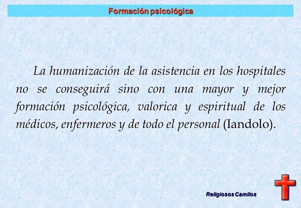 Profesional de la salud Religiosos Camilos Hombre bueno, experto en el sanar Vocación Vocación Humanidad Humanidad Profesionalismo Profesionalismo Esp