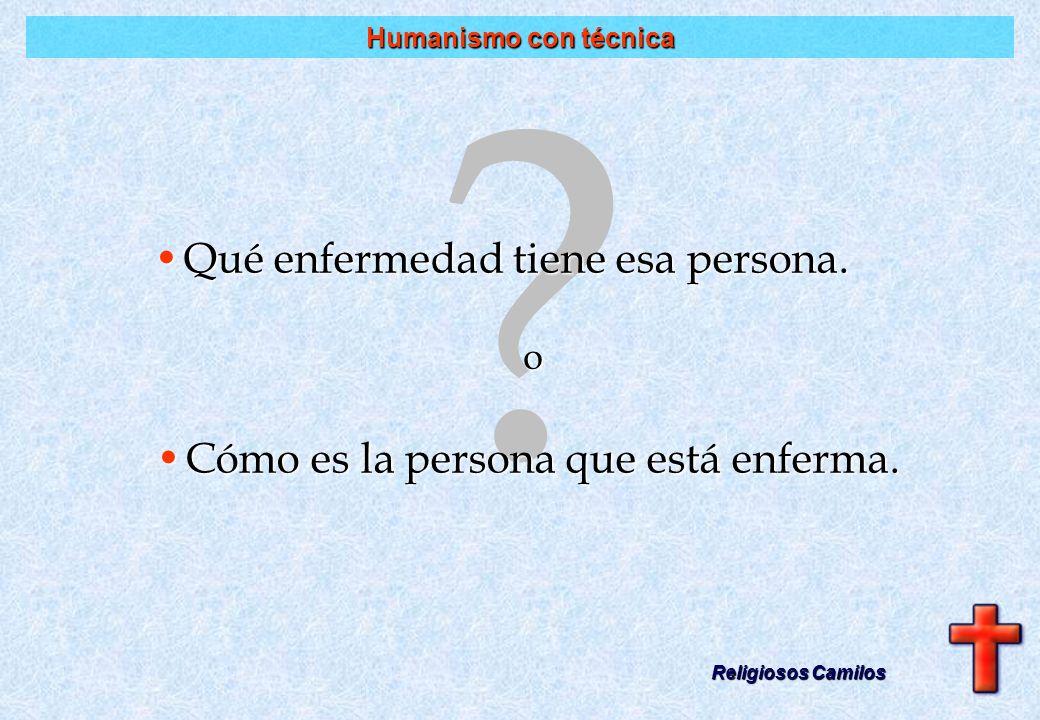 Formación psicológica Religiosos Camilos La humanización de la asistencia en los hospitales no se conseguirá sino con una mayor y mejor formación psic