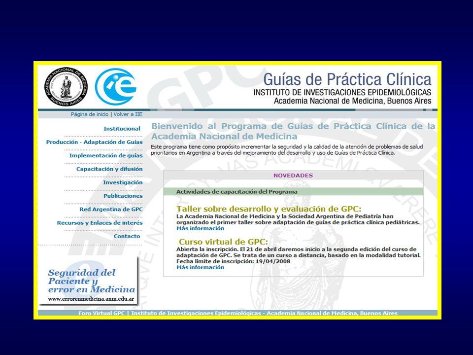 Las guías que se presenta a continuación son orientadoras y de ninguna manera reemplazan el criterio del médico tratante a la hora de indicar un procedimiento Consideraciones Generales FAU