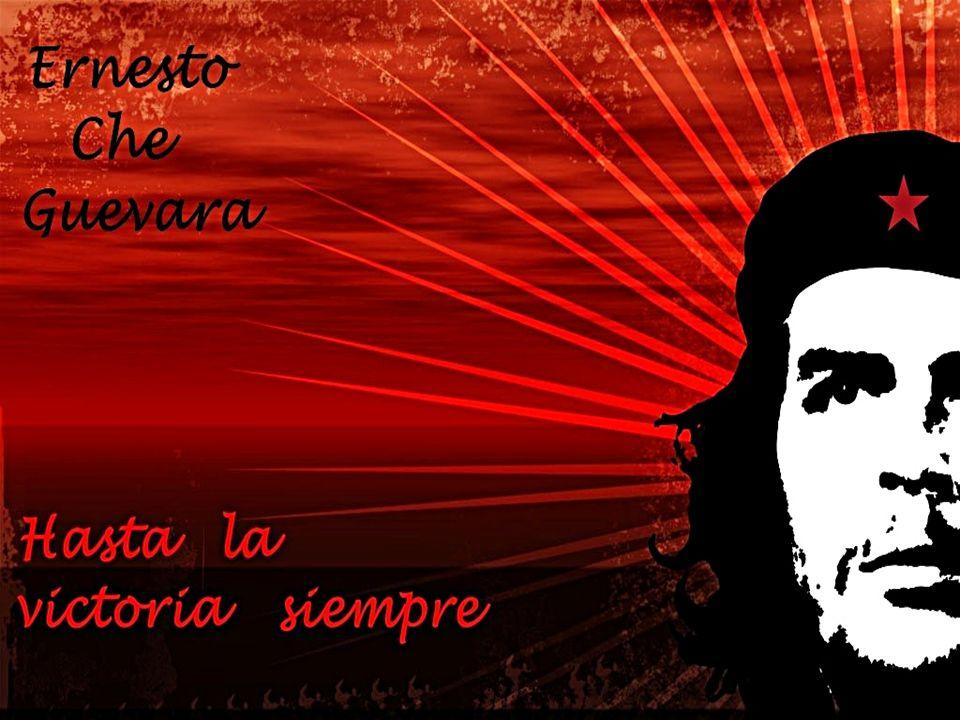 Vida Ernesto Che Guevara *Ernesto Guevara de la Serna nace el 14 de junio de 1928 en Rosario, Argentina, en una familia de clase alta *En 1932 la familia se muda a Córdoba *Su educación más básica la recibió de su madre Celia de la Serna.