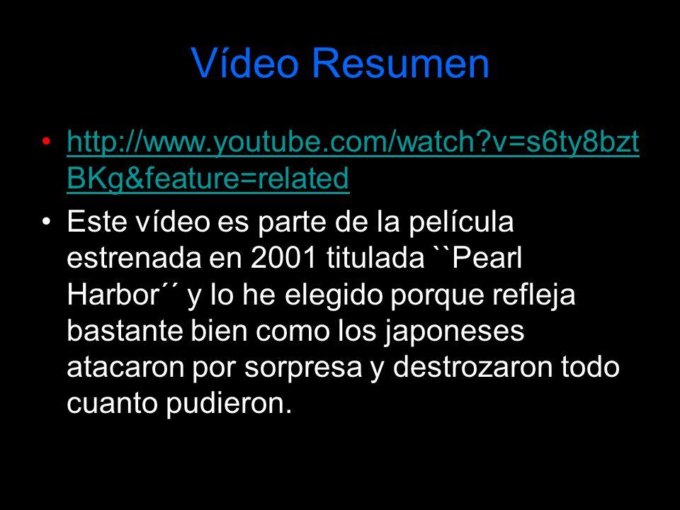 Vídeo Resumen http://www.youtube.com/watch?v=s6ty8bzt BKg&feature=relatedhttp://www.youtube.com/watch?v=s6ty8bzt BKg&feature=related Este vídeo es par