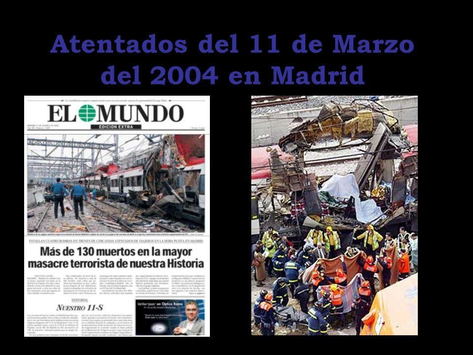 Atentados del 11 de Marzo del 2004 en Madrid