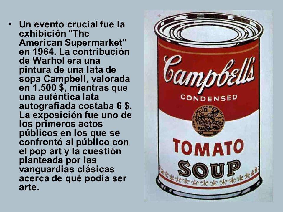 Atentado El 3 de junio de 1968, Valerie Solanas disparó a Warhol y al crítico de arte y comisario Mario Amaya en la entrada al estudio de Warhol.