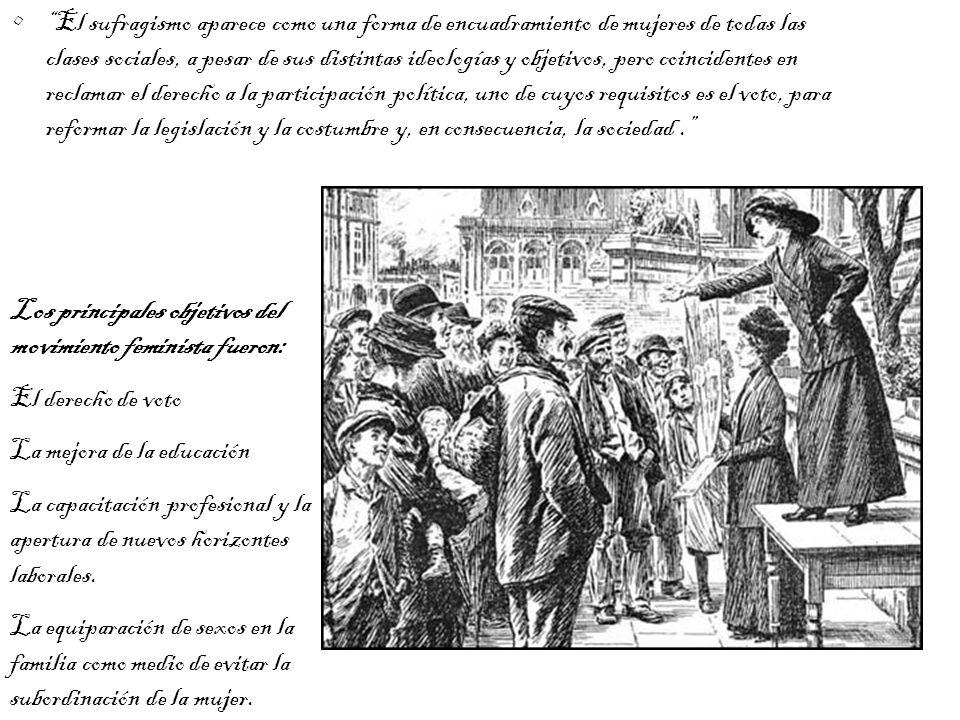 Un buen ejemplo de la mentalidad de estas mujeres anti sufragistas, lo podemos ver en las manifestaciones de Lady Musgrave, presidente de la sección de East Grinstead de la Liga Anti-Sufragio, en un mitin en 1911, recogidas en un periódico: (...) afirmó estar completamente en contra de la extensión del derecho de voto a las mujeres, ya que pensaba no sólo no traería ningún bien a su sexo, sino que, por el contrario, haría mucho mal.