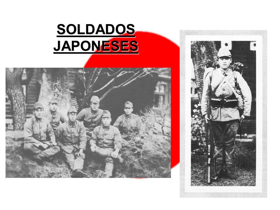 SOLDADOS JAPONESES