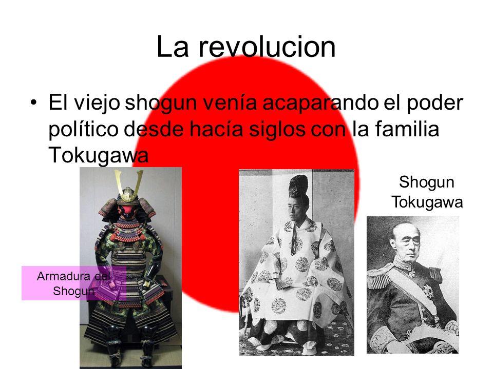 Las nuevas generaciones de samuráis eran abiertamente adversarias a la dinastía Tokugawa y al shogunado.