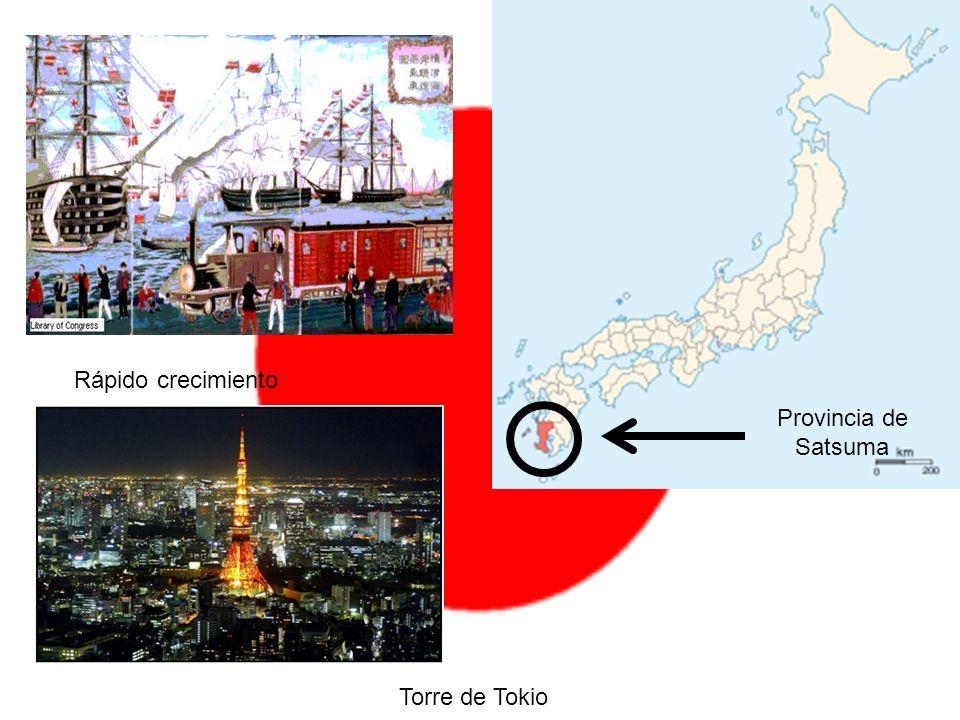 Provincia de Satsuma Rápido crecimiento Torre de Tokio
