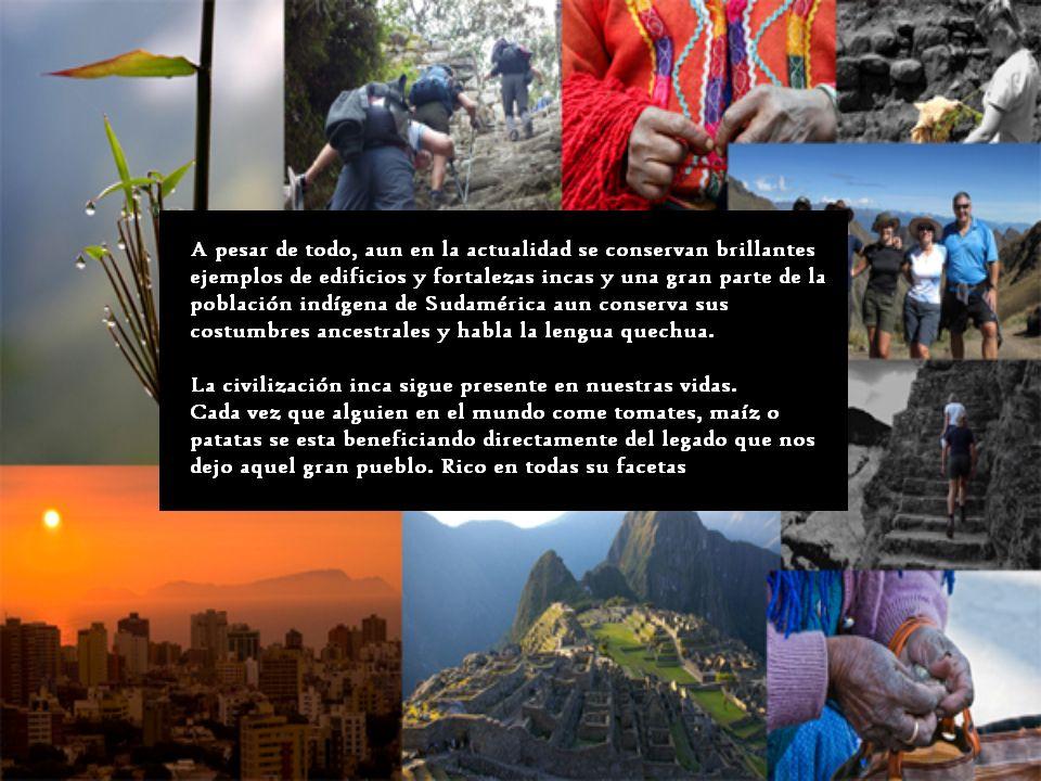 He decidido hacer el trabajo de historia sobre el Imperio inca porque es una tema sobre el que siempre me ha gustado hablar.