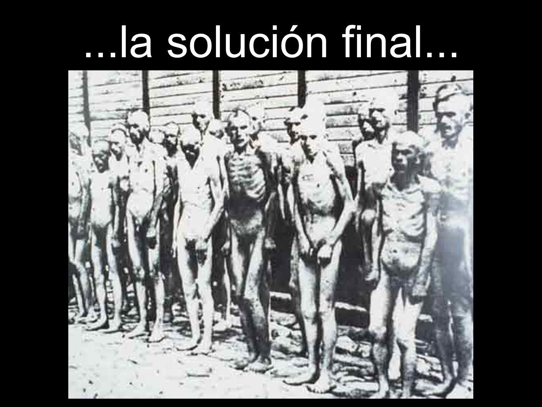 ...la solución final...